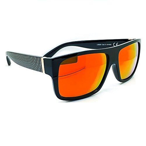 ebe34dbc19 KISS Gafas de sol estilo JACOBS Reflejado REVO - hombre mujer FLAT TOP  vintage super cool