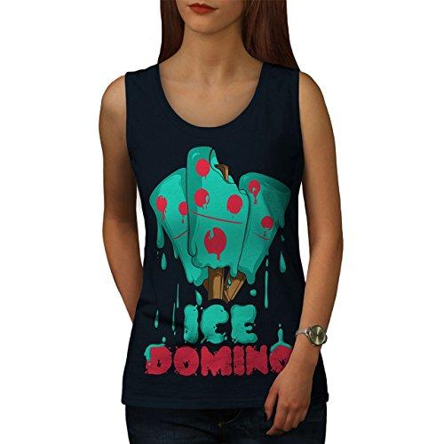 wellcoda Eis Domino Frau 2XL Tank Top