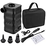 Zacro Electric Air Pump 6000mAh Battery,Portable Paddling pools Pump for Air bed quickly
