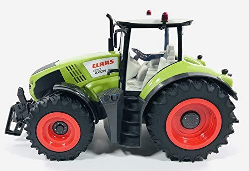 RC Traktor kaufen Traktor Bild 1: BUSDUGA RC Ferngesteuerter Traktor CLAAS 870 Axion 1:16 - passend zu den Bruder Anhänger, inkl. Batterien - 2,4 GHz - RTR (Ready-to-Run) Sofort Spielbereit - Lizenz NACHBAU*
