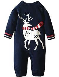 MNBS Peleles bebe invierno suéter sweater sudaderas niño suéter navidad