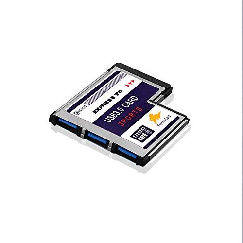 Sienoc convertisseur uSB 3.0 super speed pCMCIA express card 54 mm 2...