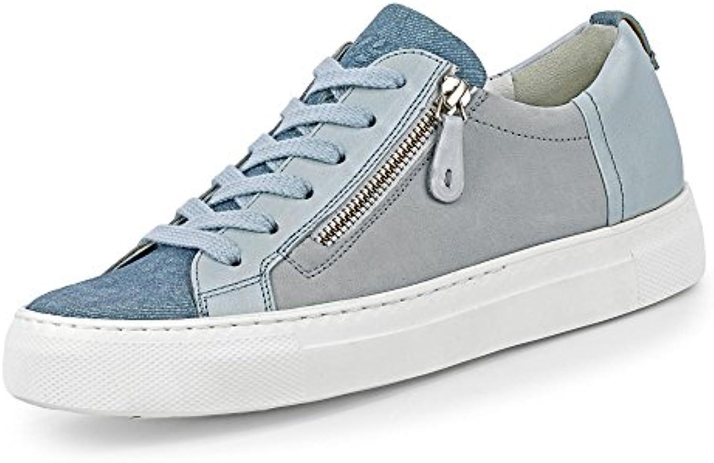 Paul Green 4512-222 Damen Sneaker aus Veloursleder Lederfutter und -Innensohle