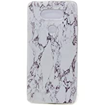Anlike LG G5 (5,3 Pouces) Coque Housse Etui, Phone Case TPU Gel Ultra Fin Dessin Coloré Etui / Protection Full Silicone Souple Ultra Mince Fine Slim Transparente Souple Coque De Protection Pour LG G5 (5,3 Pouces) - marbre