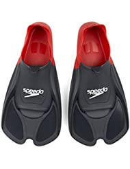 Speedo Biofuse Training Fin Palmes Rouge/Noir
