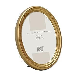 Bilderrahmen Oval Farbe: Gold, Gre (Bild): 24 Cm H X 18 Cm B