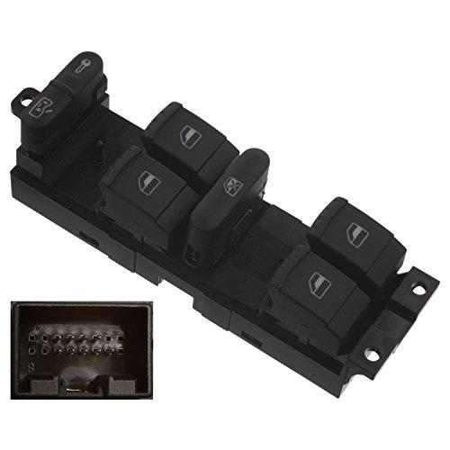 febi bilstein 37644 Schaltereinheit für Fensterheber mit Sicherheitsschalter (fahrerseitig)