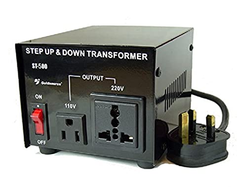Goldsource ST-500 500 Watt Step Down/Up Voltage Converter