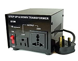 Goldsource ST-500 500 Watt Step Down/Up Voltage Converter