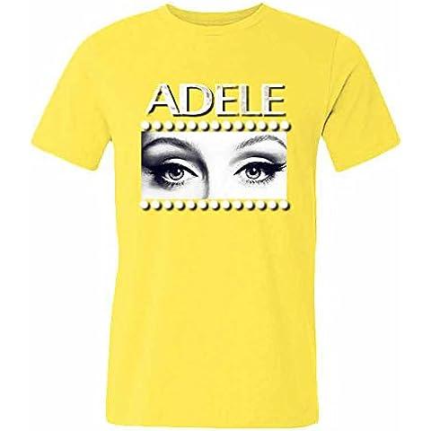Adele Logo Tees Men's Cotton T shirt