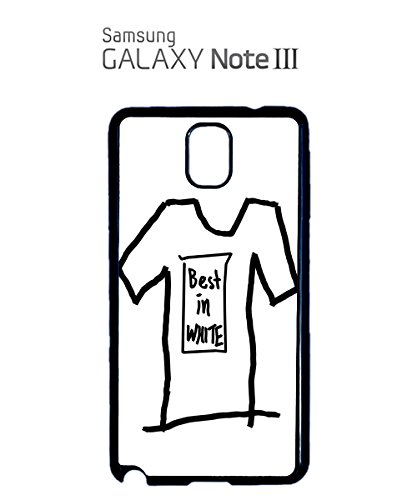 Best In White Hand Drawing Mobile Cell Phone Case Samsung Note 2 Black Noir