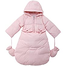 Oceankids Tuta da neve imbottita avvolgente, da bambino e bambina/