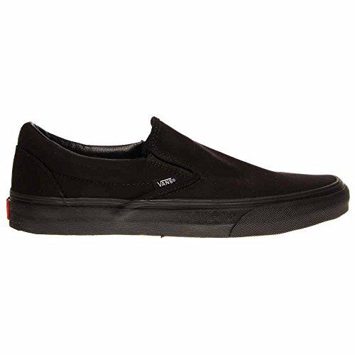 Vans Unisex-Erwachsene Classic Slip-On Low-Top Black/Black