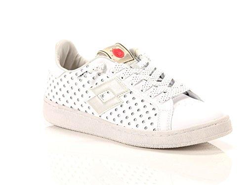Lotto , Chaussures de sport d'extérieur pour femme blanc Blanc/argenté 37 EU Bianco