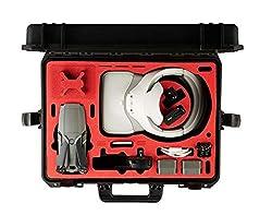 MC-CASES® Koffer für DJI Mavic 2 Pro und Zoom und DJI Goggles/RE auch mit DJI Smart Controller oder Standard Controller - Made in Germany