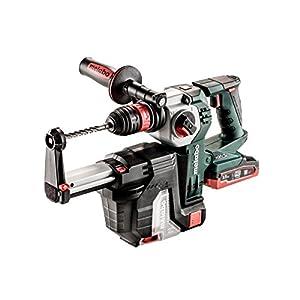 Metabo KHA 18 LTX BL 24 4500ppm LiHD 4500g martillo perforador inalámbrico – Martillo rotatorio (LiHD, 18 V, 4,5 kg, Negro, Verde, Gris, 102 dB)