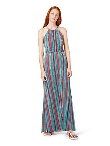 TOM TAILOR Denim für Frauen Kleider & Jumpsuits Gestreiftes Neckholder-Kleid Multicolor Stripe, M -