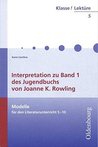 Harry-potter-buch Sechs (Klasse! Lektüre: 5./6. Jahrgangsstufe - Interpretation zu Band 1 des Jugendbuches von Joanne K. Rowling: Band 5)