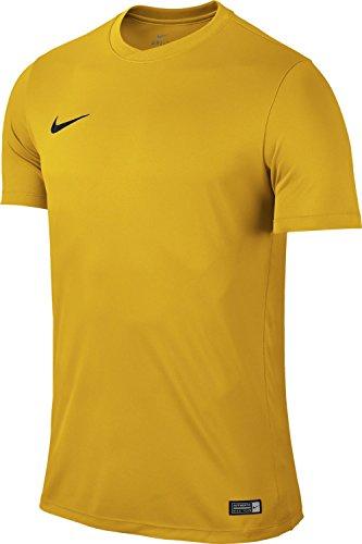 Nike park vi, t-shirt uomo, oro (university gold/black), m