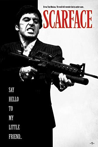 Grupo Erik Editores Poster Scarface Say Hello To My