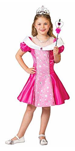 Pinky Kostüm - Prinzessin Pinky Kostüm für Mädchen Gr. 104