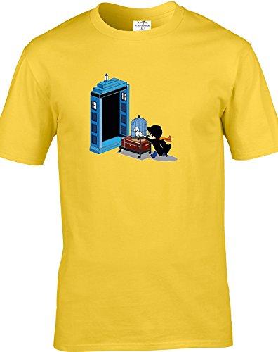 Eat Sleep Shop Repeat Herren T-Shirt Gänseblümchen