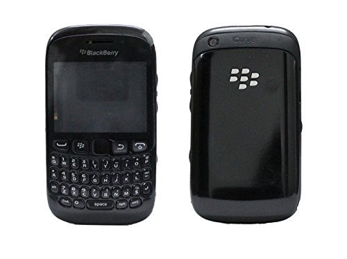 Full Housing Body Panel Faceplate For Blackberry Curve 9220 Black  available at amazon for Rs.699