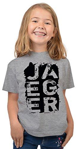 Goodman Design ® Jäger Sprüche Kinder T-Shirt/Mädchen Jagd Bekleidung Shirt : Jaeger - Kinder Jäger T-Shirt Gr: L = 146-152