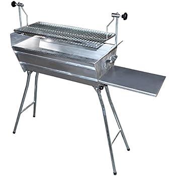 grill bbq edelstahl 2mm stabille schaschlyk grill zusammenfaltbar abnehmbarer und. Black Bedroom Furniture Sets. Home Design Ideas