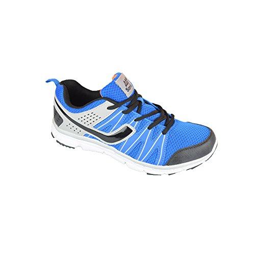 Sandic , Chaussures pour homme spécial foot en salle - Blau/Grau/Schwarz