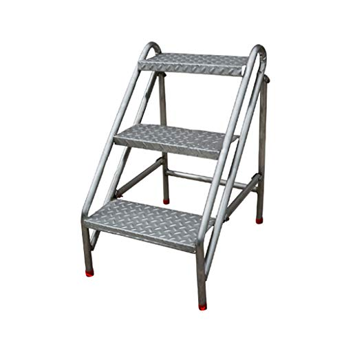 Escalera portátil Industrial de la Escalera de del escalón 3, Taburete de...