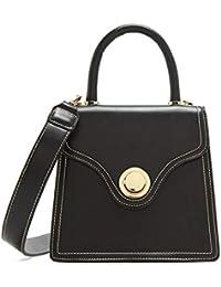 51e73a4347506 Micocah Kleine Quadratische Tasche Stereotype Tragbare Metallring Drehen  Schnalle Umhängetasche Damen Handtasche Weiblichen Beutel Handtaschen für