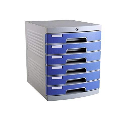 Wtbew-u Flat File Cabinet, Office Desktop Schubladenblöcke Datendatei Organizer Abschließbar -