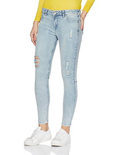 new product 3a7ae 58735 United Colors of Benetton Women's Skinny Fit Jeans in Ice Blue