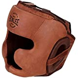BENLEE Rocky Marciano Unisex - Erwachsene Harvey Leather Headguard, Vintage Brown, L/XL