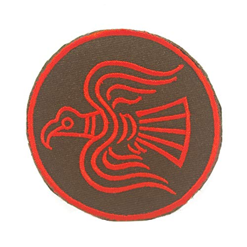 Cobra Tactical Solutions Military Besticktes Patch Odin's Raven Viking mit Klettverschluss für Airsoft/Paintball für Taktische Kleidung/Rucksack -