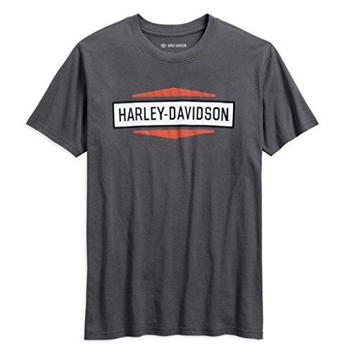 HARLEY-DAVIDSON® Men's Stacked Graphic Slim Fit Tee - 99078-18VM (2XL) (Herren Xxl Harley Davidson T-shirts)