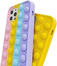 Fidget Push Pop It Silicone Phone Case