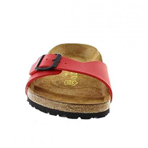 Birkenstock Madrid Red Cherry Womens Sandals Cerise