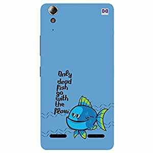 Fish - Mobile Back Case Cover For Lenovo A6000 Plus