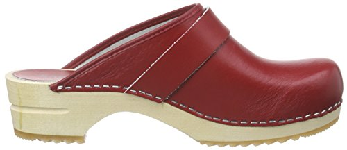 Sanita Damen Rita Open Clogs Rot (red 4)