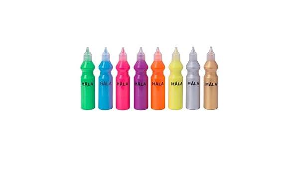 /Fluorescente//Vernice Glitter Colori Assortiti//8/Pezzi//8/Confezione Ikea Mala/