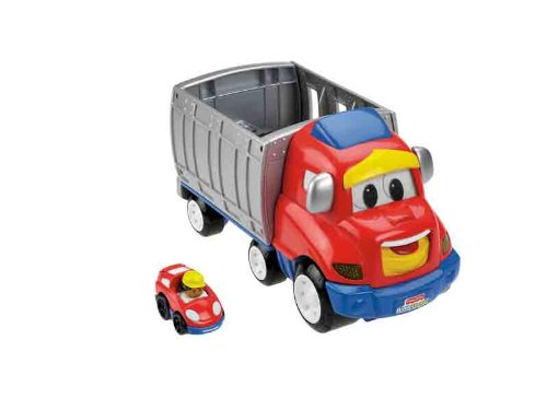 Little People Mattel - Camión Fisher Price Ramón Con Luces Y Sonidos 21-3978W