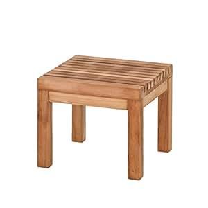 jan kurtz nice hocker beistelltisch eckig teak 492875 k che haushalt. Black Bedroom Furniture Sets. Home Design Ideas