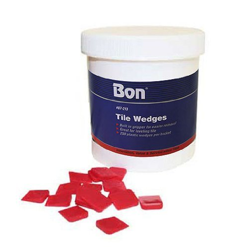 Bon 87-213 5/8-Inch by 1/2-Inch Bucket of Tile Wedges, 450-Pieces by BON