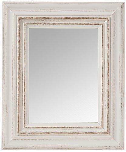 Inov8 Miroir Cadre Toscane 8 x 6 4pk, Blanc, 9 x 12 x 16 cm