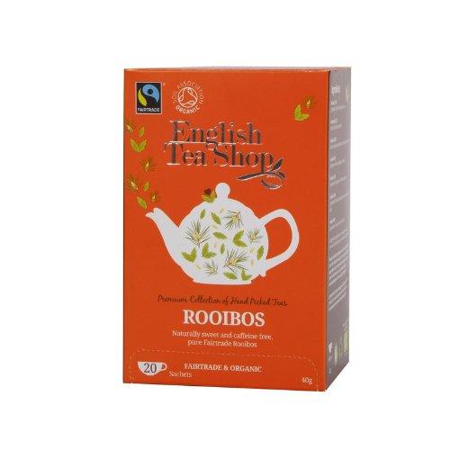 English Tea Shop - Rooibos, BIO Fairtrade, 20 Teebeutel
