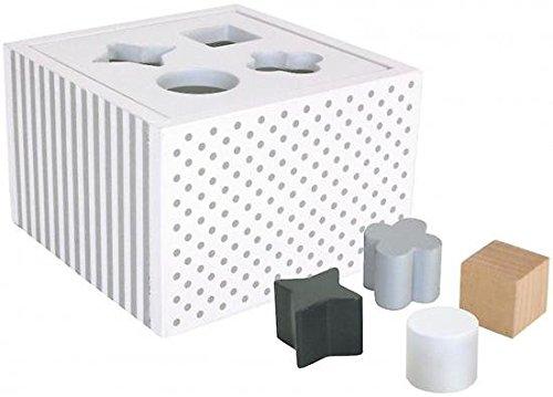 JaBaDaBaDo W7098 Sorterbox, Weiß