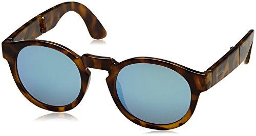 Mr. Boho | Jordaan | Foldable Tortoise / Blue -   Sonnenbrillen fur Damen und Herren
