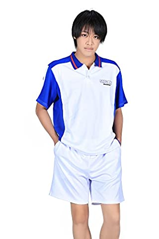 De-Cos Prince of Tennis Cosplay Seigaku High School Summer Sport Outfit